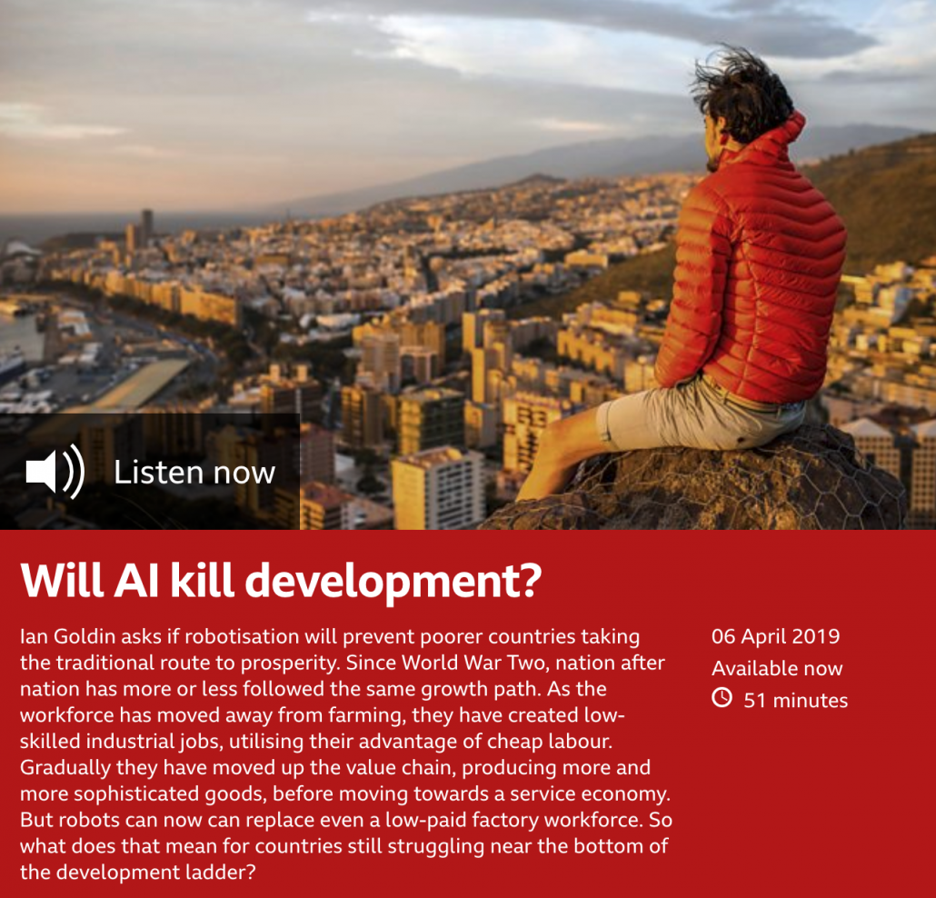 Will AI kill development?